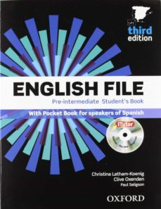 english file pre-intermediate third ed. student s book with workbook with key pack-clive oxenden-cristina latham-koenig-paul seligson-9780194598934