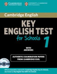 Descargar ebooks a ipod touch gratis CAMBRIDGE KET FOR SCHOOLS 1: SELF-STUDY PACK (STUDENT S BOOK/ ANS WERS / AUDIO CD)