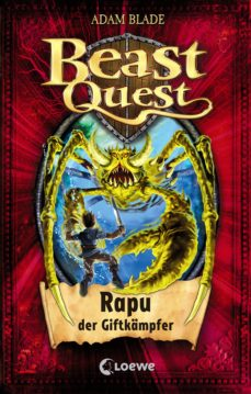 beast quest 25 - rapu, der giftkämpfer (ebook)-adam blade-9783732009534