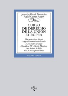 curso de derecho de la unión europea (ebook)-joaquin alcaide fernandez-rafael casado raigon-9788430964734
