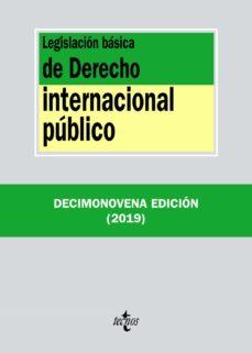 Descargar LEGISLACION BASICA DE DERECHO INTERNACIONAL PUBLICO gratis pdf - leer online