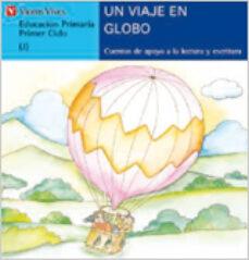 un viaje en globo (j) (letra de molde)-9788431635534