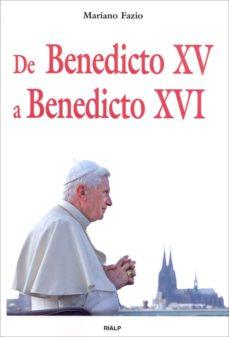 de benedicto xv a benedicto xvi-mario fazio fernandez-9788432137334