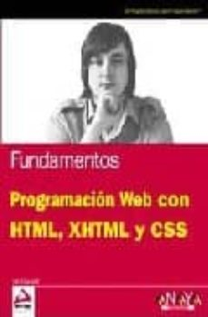 Garumclubgourmet.es Fundamentos Programacion Web Con Html, Xhtml Y Css Image