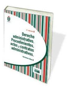 Emprende2020.es Derecho Administrativo. Procedimientos, Actos Y Contratos Adminis Trativos Image