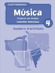 Relaismarechiaro.it Musica 4º Primaria. Quadern D Activitats. Projecte Nou Andola. Co Munitat Valenciana Image