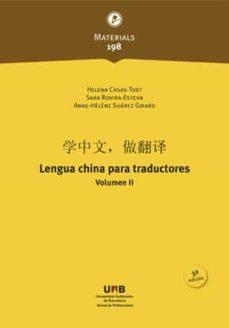 Costosdelaimpunidad.mx Lengua China Para Traductores: Vol. Ii Image