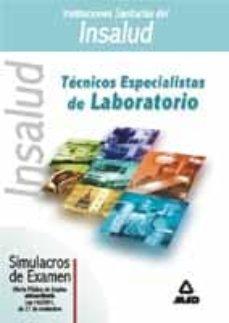 Carreracentenariometro.es Tecnicos Especialistas De Laboratorio De Instituciones Sanitarias Del Insalud: Simulacros De Examen Image