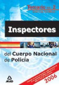 Titantitan.mx Inspectores Del Cuerpo Nacional De Policia (Temario Vol. Ii) Image