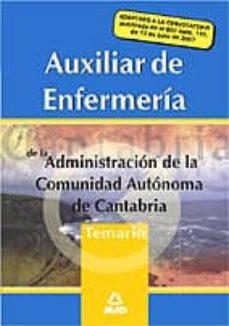 Eldeportedealbacete.es Aux.enfermeria Admon.comunidad De Cantabria.temario Image