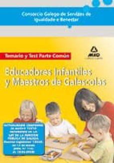 Viamistica.es Consorcio Galego De Servizos De Igualdade E Benestar. Educadores Infantiles Y Maestros De Galescolas. Temario Y Test Parte Comun. Image