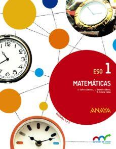 Matematicas 1º Eso Vv Aa Comprar Libro 9788467850734