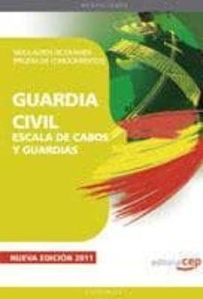 Colorroad.es Guardia Civil. Escala De Cabos Y Guardias. Simulacros De Examen ( Prueba De Conocimientos) Image