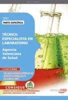 Inmaswan.es Tecnico Especialista En Laboratorio Agencia Valenciana De Salud. Test Parte Especifica(4ª Ed.) Image