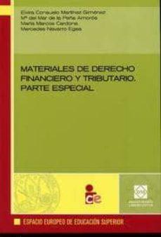 Geekmag.es Materiales De Derecho Financiero Y Tributario: Parte Especial Image