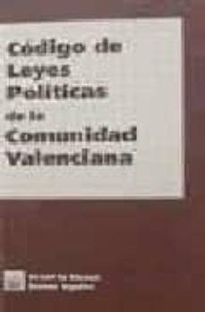 codigo de leyes politicas de la comunidad valenciana-vicente garrido-9788484420934
