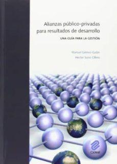 alianzas público-privadas para resultados de desarrollo-manuel gomez galan-hector sainz ollero-9788487082634