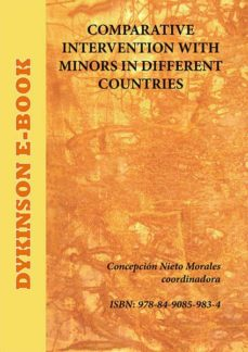 comparative intervention with minors in different countries (ebook)-concepción (coord.) nieto morales-9788490859834