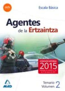 Trailab.it Agentes De La Ertzaintza. Escala Basica. Temario. Volumen Ii Image