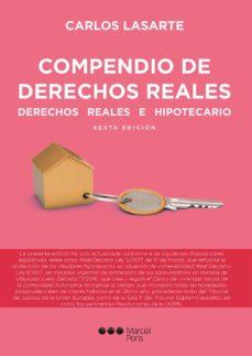 compendio de derechos reales 6º edicion-carlos lasarte-9788491232834