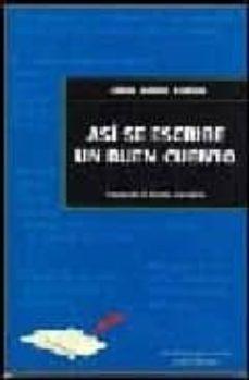 asi se escribe un buen cuento: claves de la ficcion narrativa-silvia adela kohan-9788493213534