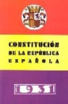 Lofficielhommes.es Constitucion De La Republica Española (1931) Image