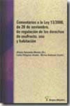Vinisenzatrucco.it Comentarios A La Ley 13/2000, De 20 De Noviembre, De Regulacion D E Los Derechos De Usufructo, Uso Y Habitacion Image