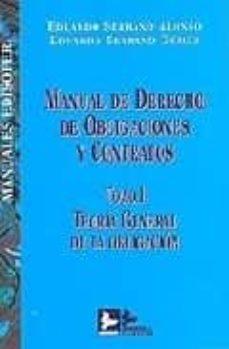 Geekmag.es Manual De Derecho De Obligaciones Y Contratos. Tomo I:teoria Gene Ral De La Obligacion Image