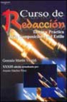 Bressoamisuradi.it Curso De Redaccion: Teoria Y Practica De La Composicion Y Del Est Ilo Image