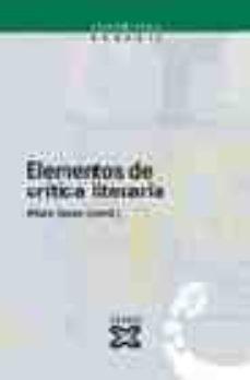 Bressoamisuradi.it Elementos De Critica Literaria Image