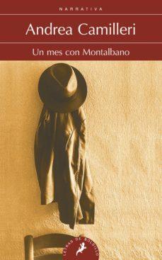 Descargar gratis ebooks compartir UN MES CON MONTALBANO (SERIE MONTALBANO 5) (RELATOS) de ANDREA CAMILLERI (Spanish Edition) ePub DJVU