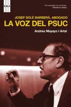Costosdelaimpunidad.mx Josep Sole Barbera, Abogado: La Voz Del Psuc Image