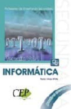 Cdaea.es Temario Oposiciones Vol. I. Cuerpo De Profesores De Enseñanza Sec Undaria: Informatica Image