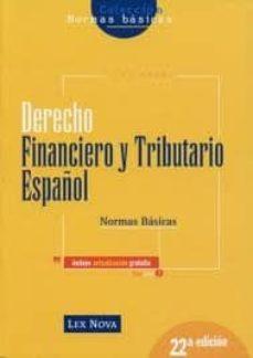 Viamistica.es Derecho Financiero Y Tributario: Normas Basicas (22ª Ed.) Image