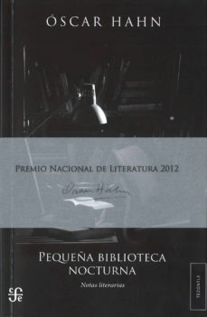 PEQUEÑA BIBLIOTECA NOCTURNA - OSCAR HAHN | Adahalicante.org