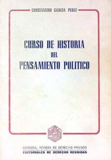Followusmedia.es Curso De Historia Del Pensamiento Político Image