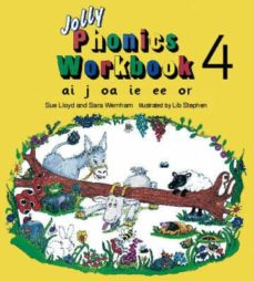 Audiolibros gratis sin descargar JOLLY PHONICS WORKBOOK 4: AI, J, OA, IE, EE, OR 9781870946544 MOBI CHM DJVU de