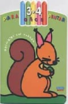 Padella.mx Para Pintar (3-4 Años) : Animales Del Bosque Image