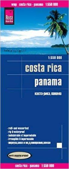 costa rica - panama 1:550.000 impermeable-9783831773244