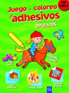 Encuentroelemadrid.es Juego Y Coloreo Con Adhesivos: Opuestos Image