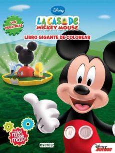 Inmaswan.es La Casa De Mickey Mouse: Miska, Muska, Mickey Mouse. Libro Gigant E De Colorear Con Pegatinas Image