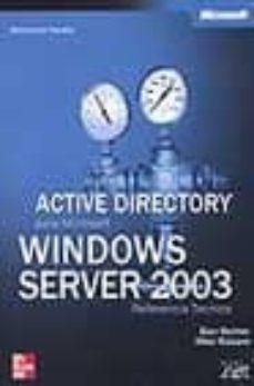 Bressoamisuradi.it Active Directory Para Microsoft Windows Server 2003: Referencia T Ecnica Image