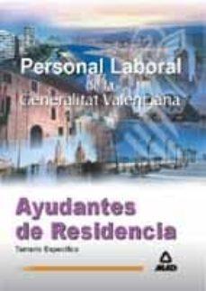 Trailab.it Ayudantes De Residencia. Personal Laboral De La Generalitat Valen Ciana: Temario Especifico Image