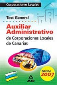 Chapultepecuno.mx Auxiliares Administrativos Corporaciones Locales De Canarias: Tes T Image