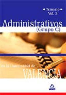 Alienazioneparentale.it Universidad De Valencia: Administrativos Grupo C. Temario (Vol. I Ii) Image