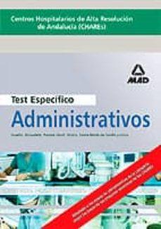 Bressoamisuradi.it Centros Hospitalarios De Alta Resolucion De Andalucia (Chares): A Dministrativos: Test Especificos Image