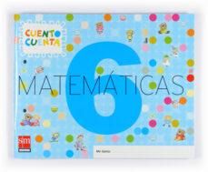 matematicas 4 años cuento cuenta nivel 6, educacion infantil-9788467510744