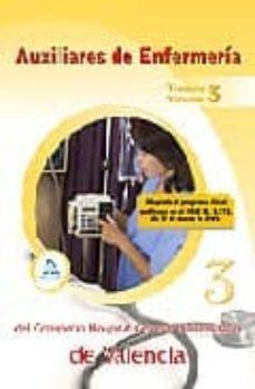 Lofficielhommes.es Auxiliares De Enfermeria Del Consorcio Hospital General Universit Ario De Valencia. Temario. Volumen Iii Image