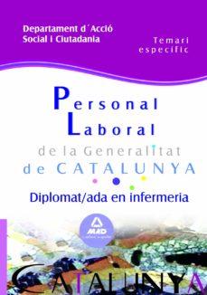 Elmonolitodigital.es Personal Laboral De La Generalitat De Catalunya. Departament D´ac Cio Social I Ciutadania. Diplomat/ada En Infermeria. Temari Especific Image