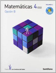 matematicas 4º eso opc b (los caminos del saber)-9788468000244